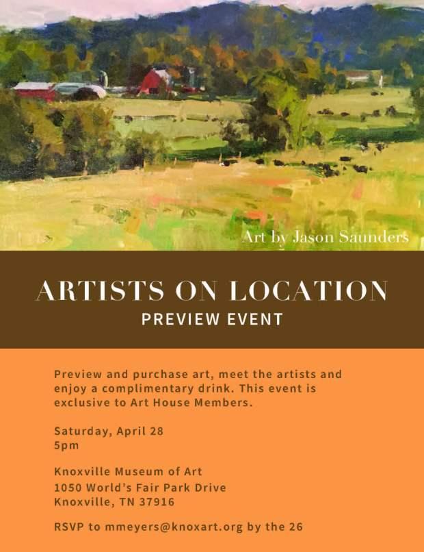 Artists on Location